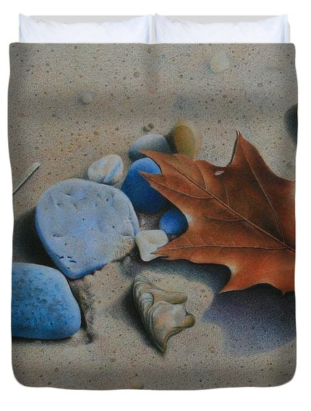 Beach Still Life II Duvet Cover