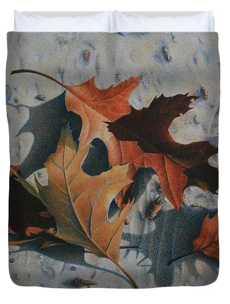 Beach Still Life Duvet Cover