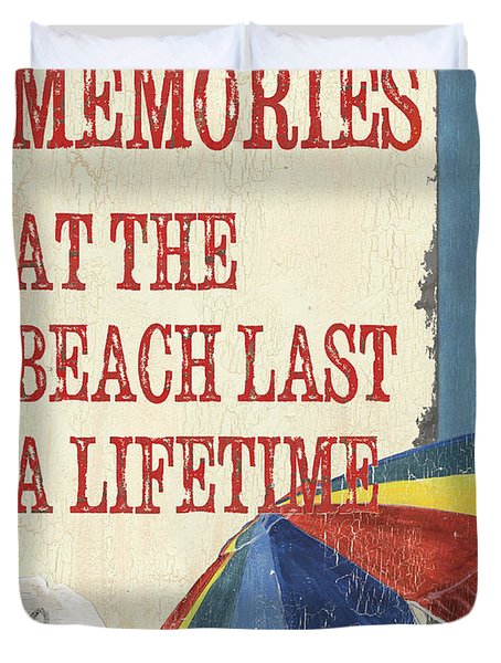 Beach Time 3 Duvet Cover