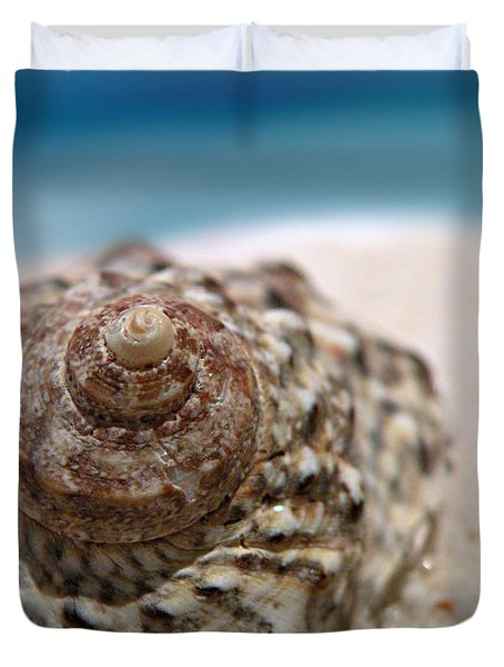 Beach Treasure Duvet Cover