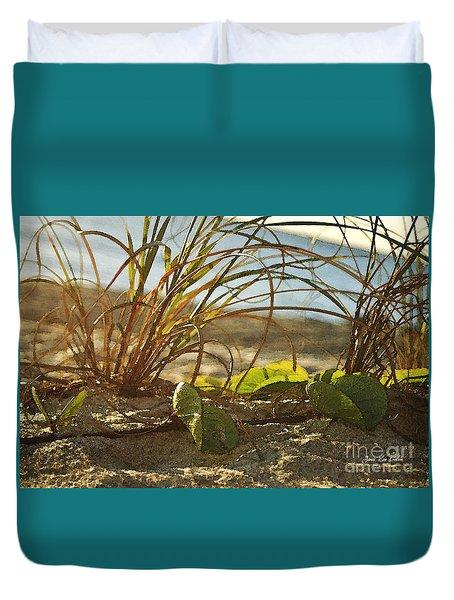 Beach Vine Duvet Cover