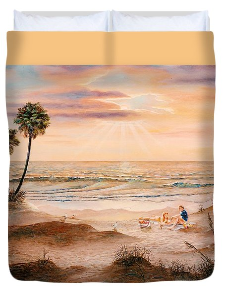 Beachcombers Duvet Cover