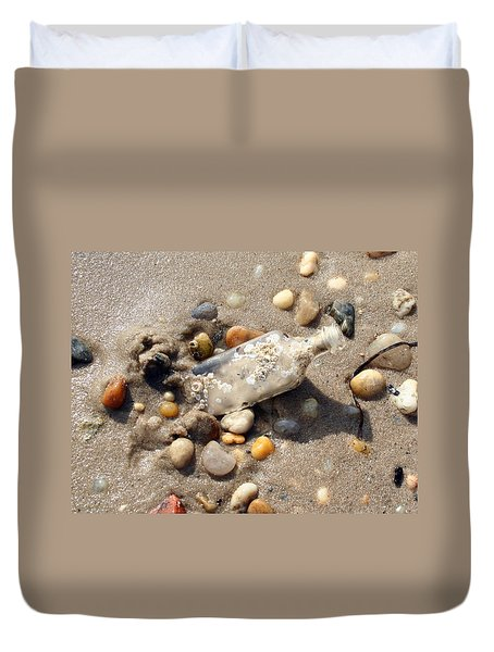 Beached Bottle Duvet Cover