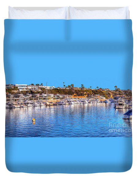 Beacon Bay - South Duvet Cover by Jim Carrell