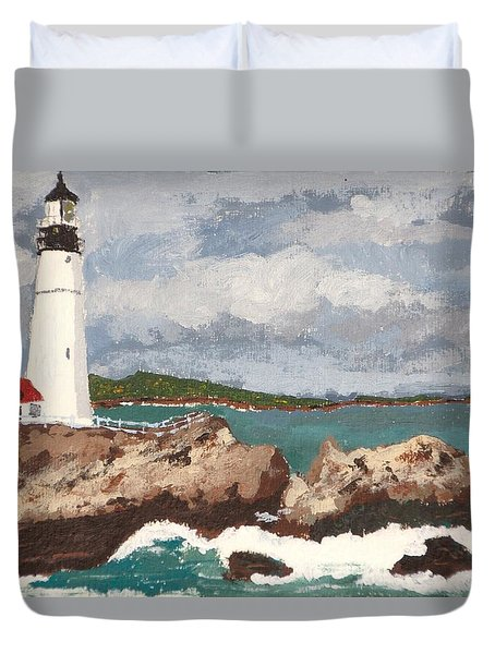 Beacon Of Love Duvet Cover
