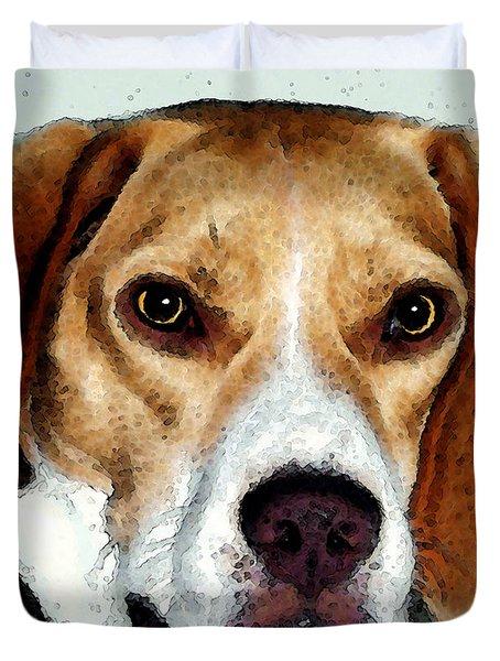 Beagle Art - Eagle Boy Duvet Cover