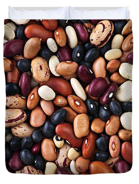 Beans Duvet Cover by Elena Elisseeva