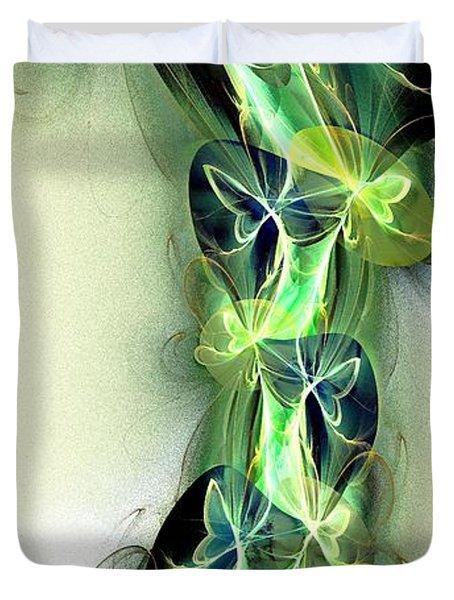 Beanstalk Duvet Cover by Anastasiya Malakhova