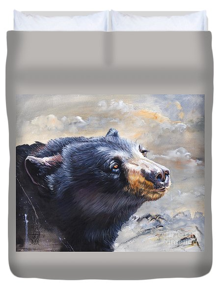Four Winds Bear Duvet Cover