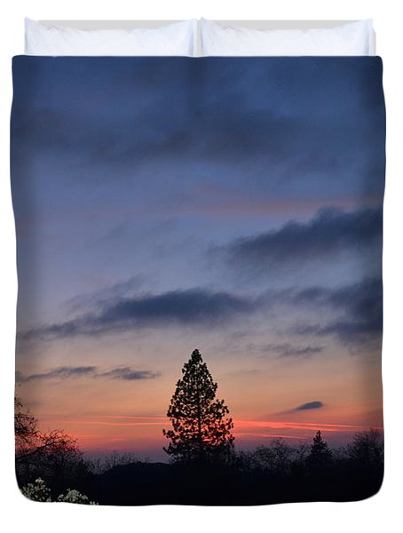 Bear Mountain Peaking Duvet Cover