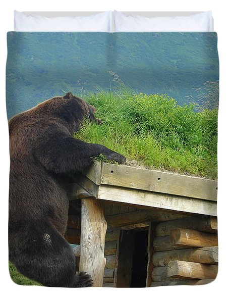Bearly Able Duvet Cover