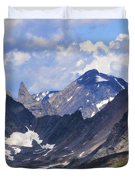 Beartooth Mountain Duvet Cover