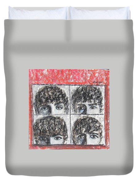 Beatles Hard Day's Night Duvet Cover