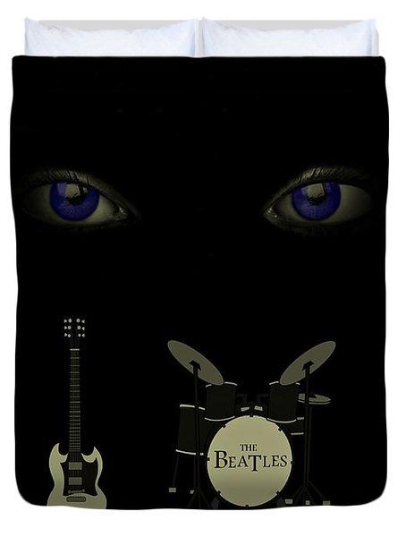Beatles Something Duvet Cover