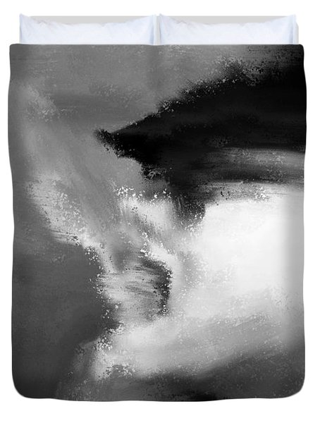 Beau Bella Sexy Smoke Duvet Cover by Sir Josef - Social Critic - ART