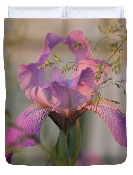 Beautiful And Mystical Iris  Duvet Cover