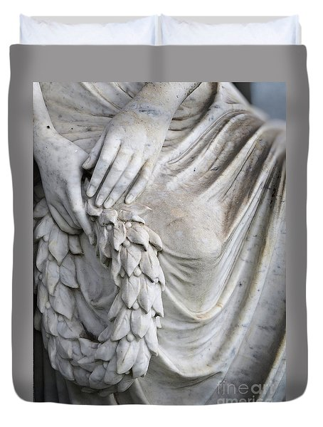 Beautiful Angel Healing Touch Duvet Cover