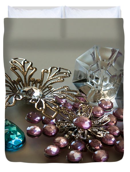 Beautiful Baubles Duvet Cover