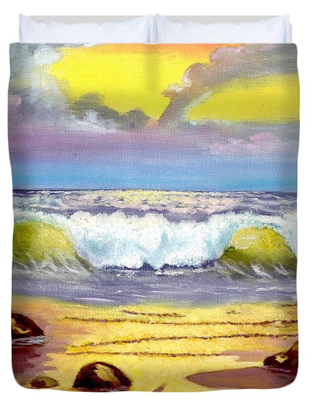 Beautiful Beach Duvet Cover