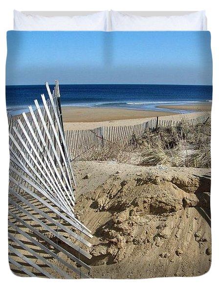 Beautiful Beach Day Duvet Cover