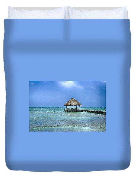 Beautiful Belize Duvet Cover by Kristina Deane