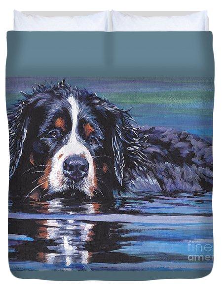 Beautiful Berner Duvet Cover by Lee Ann Shepard