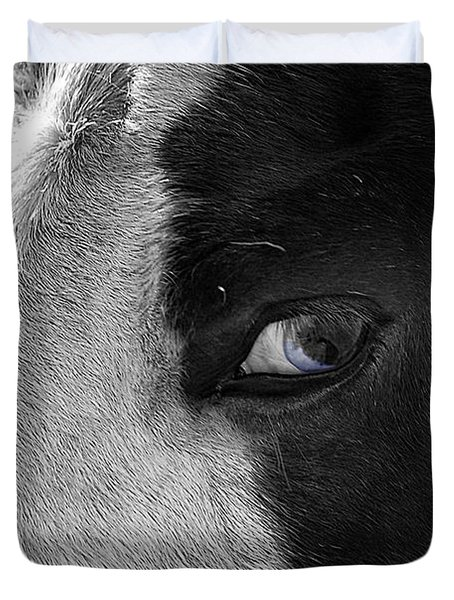 Beautiful Blind Soul Horse Duvet Cover by Peggy Franz