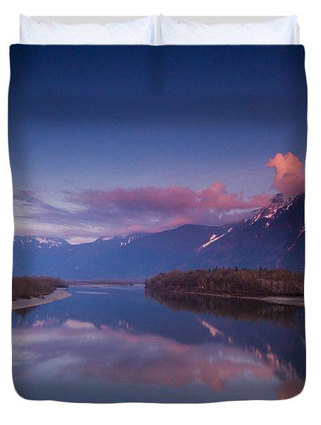 Beautiful British Columbia Duvet Cover by Eti Reid