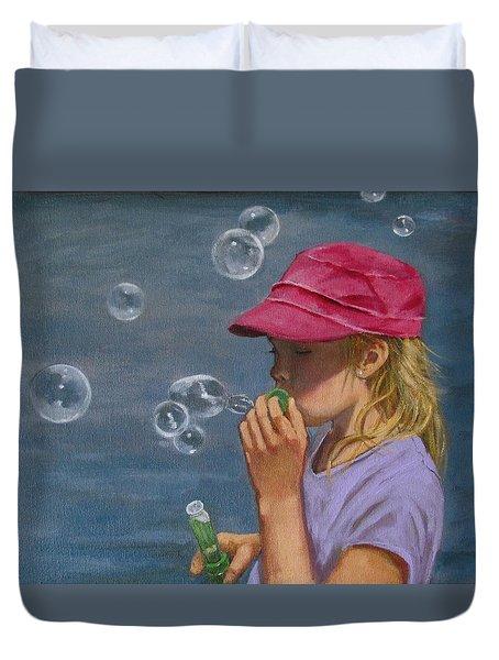Beautiful Bubbles Duvet Cover by Joyce Geleynse