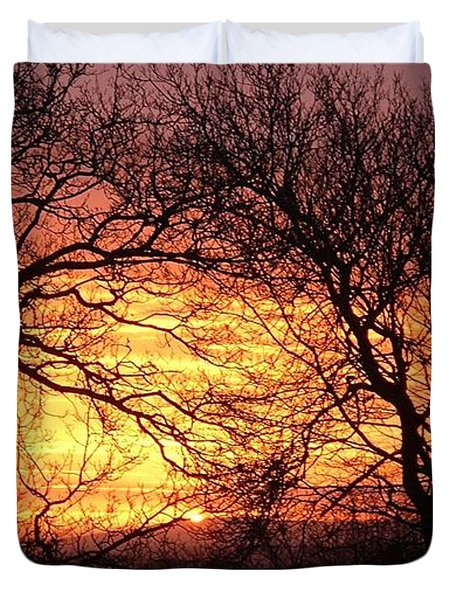 Beautiful Dawn Duvet Cover by Richard Brookes