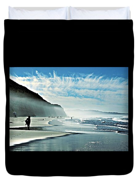 Another Beautiful Day At The Beach Duvet Cover