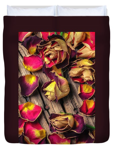 Beautiful Decay Duvet Cover by Garry Gay