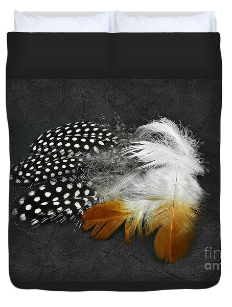 Beautiful Feathers Duvet Cover