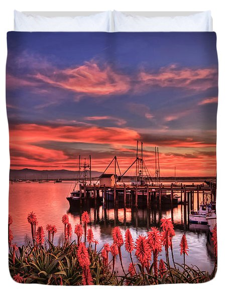 Beautiful Harbor Duvet Cover