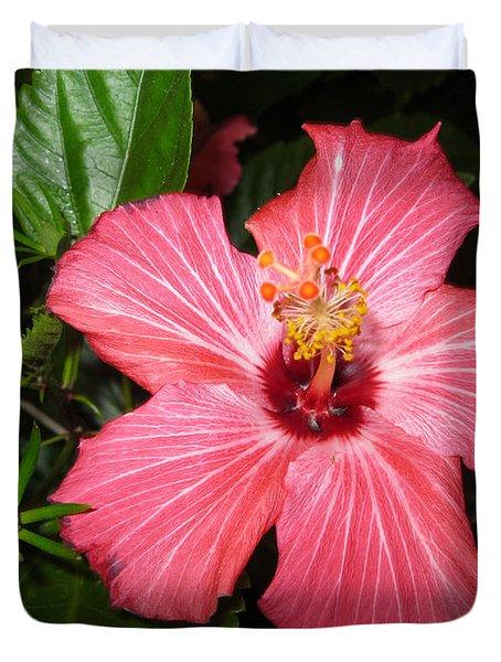 Beautiful Hibiscus Duvet Cover