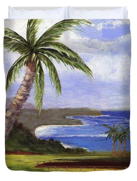 Beautiful Kauai Duvet Cover by Jamie Frier