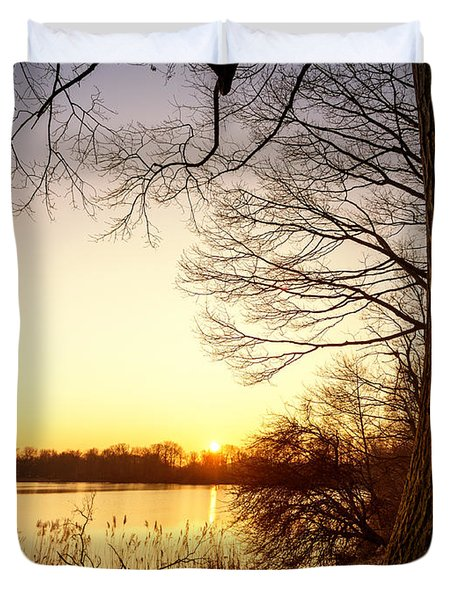 Beautiful Lake Duvet Cover