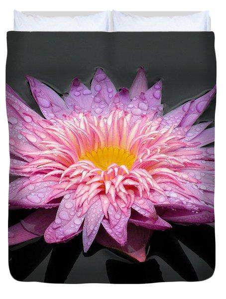 Beautiful Lily Duvet Cover by Kim Bemis