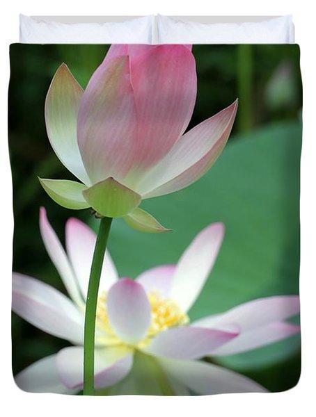 Beautiful Lotus Blooming Duvet Cover