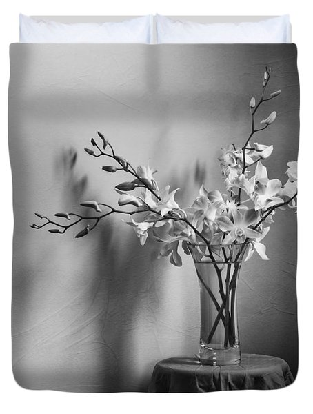 Beautiful Melancholy Duvet Cover by Amy Weiss