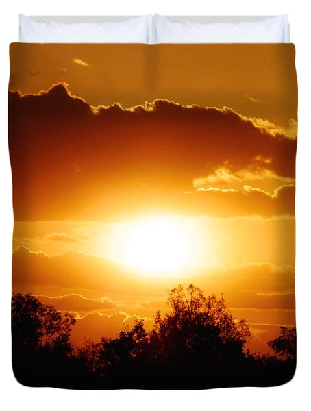 Duvet Cover featuring the photograph Beautiful Moment In Bakersfield by Meghan at FireBonnet Art