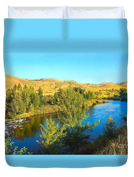 Beautiful Payette Duvet Cover by Robert Bales