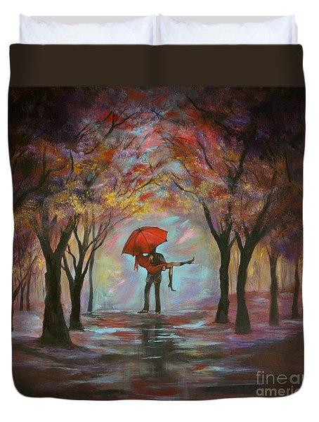 Beautiful Romance Duvet Cover