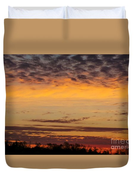 Beautiful Sky Duvet Cover