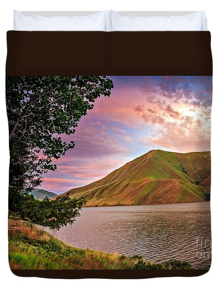 Beautiful Sunrise Duvet Cover by Robert Bales