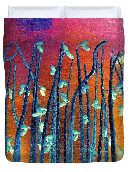 Beautiful Weeds On Venus Duvet Cover