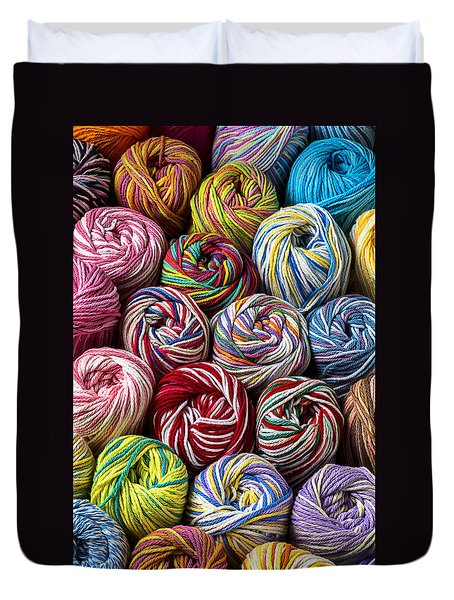 Beautiful Yarn Duvet Cover