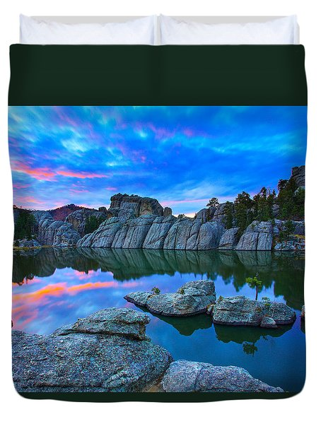 Beauty After Dark Duvet Cover