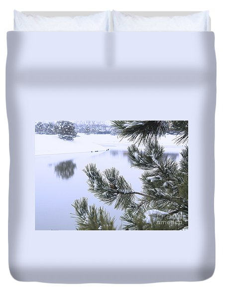 Beauty After The Storm Duvet Cover