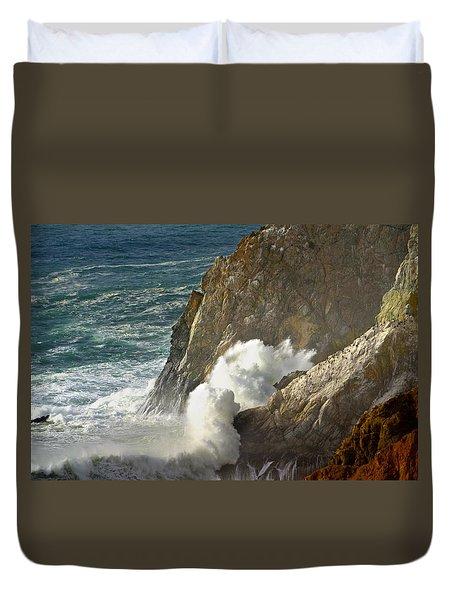 Crashing Wave Duvet Cover